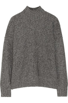 T by Alexander Wang Marled knitted sweater - 53% Off Now at THE OUTNET