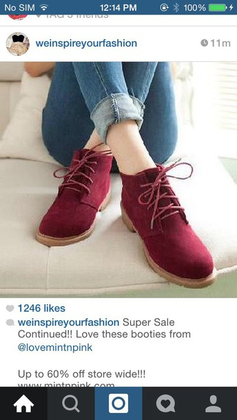 shoes burgundy shoes