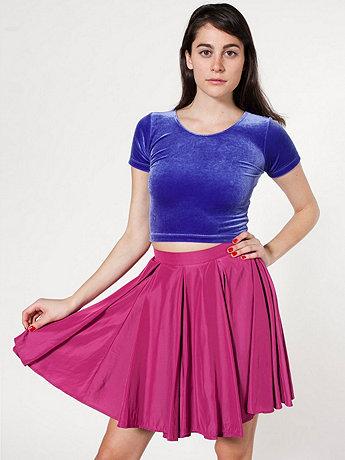 Short Gore Skirt    American Apparel