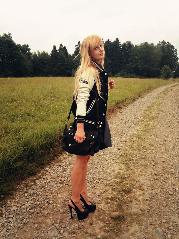 charmeuse jacket skirt top bag