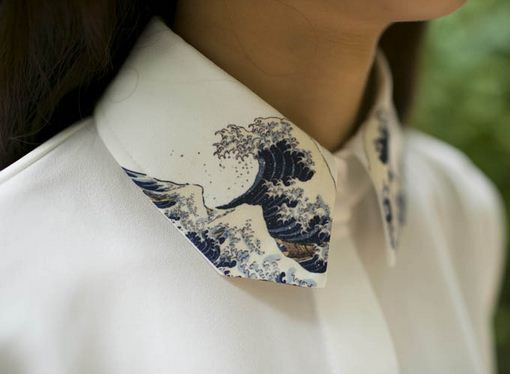 Vintage Japanese painting Hokusais The Great by PurpleFishBowl