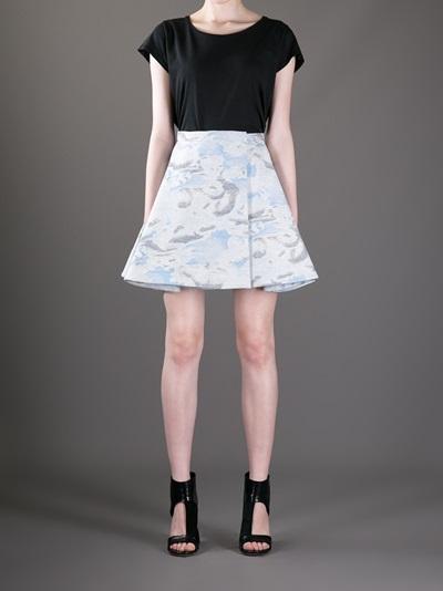 Kenzo 'day Clouds' Skirt -  - Farfetch.com