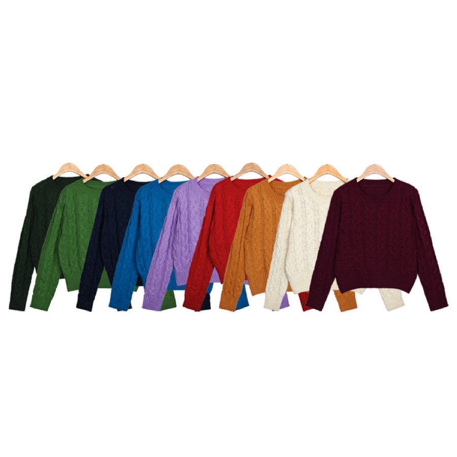 KNIT SWEATER (9 colours) / back order – HolyPink