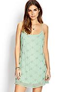 Dazzling Beaded Shift Dress | FOREVER21 - 2000090327