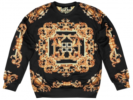 Original SEXY SWEATER ELABORATED GOLD | Fusion® clothing!