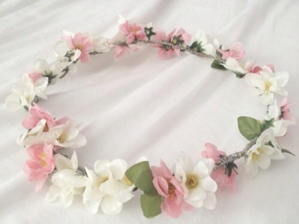jewels flower headband