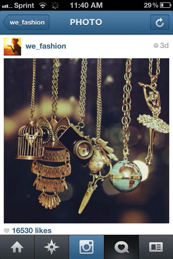 jewels necklace owl ballirena