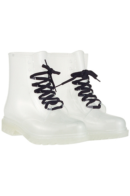 Jelly Doc Style Boots Clear | Milk Sick
