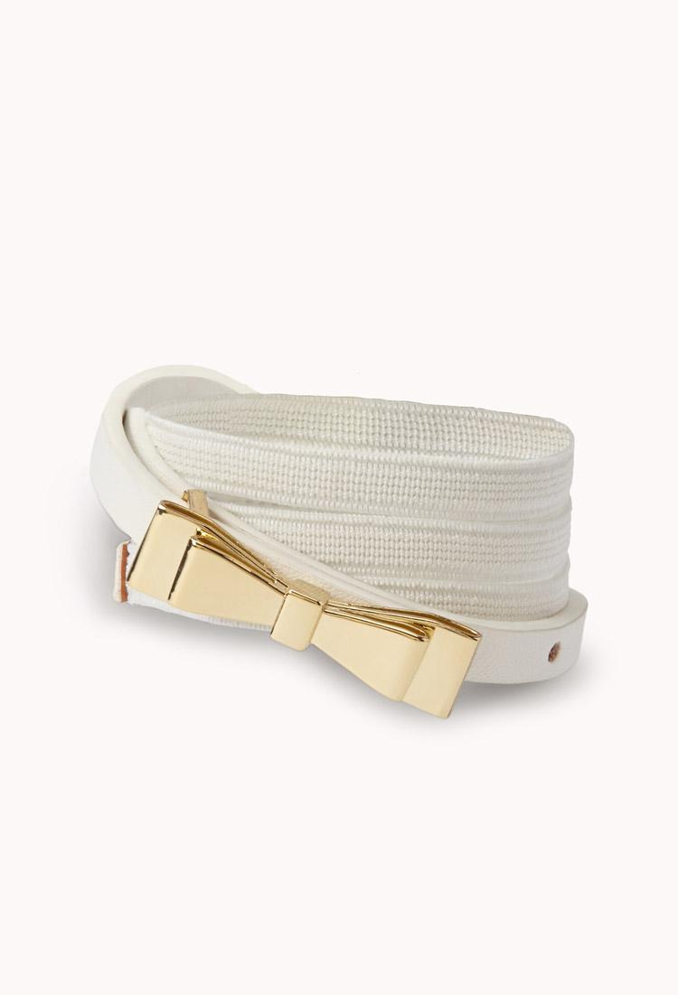 Fancy Bow Belt | FOREVER21 - 2000066675