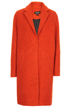 Wool Boyfriend Coat - Boyfriend & Cocoon Coats - Jackets & Coats  - Clothing - Topshop USA