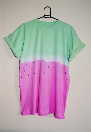 'Watermelon' Tie dye T-shirt  | RetroSpectiveApparel | ASOS Marketplace