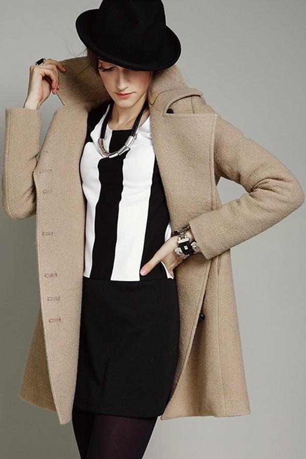 coat tall girl coat wool jacket fashion jacket warm jacket