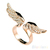 Classic Angel Wing Gold Plated Crystal Rhinestone Adjustable Ring Nice Gift BD2U | eBay