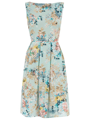 Dorothy Perkins - Blue floral prom dress customer reviews - product reviews - read top consumer ratings