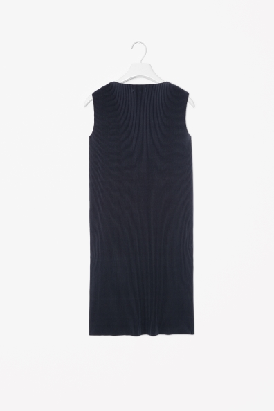 Finely pleated dress