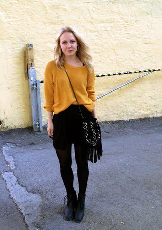 bag shoes sweater elenita skirt