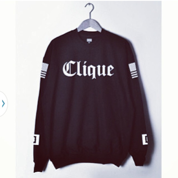 shirt clique sweater dope hoodie