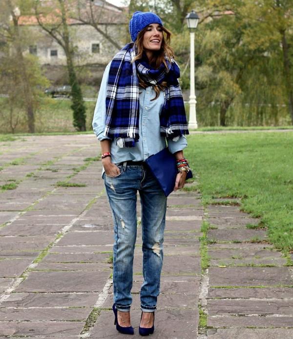 rebel attitude shirt jeans bag shoes scarf hat jewels