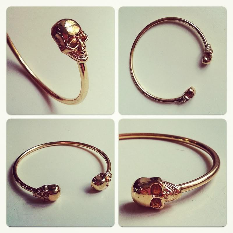 Skull bracelet   passionsforfashion