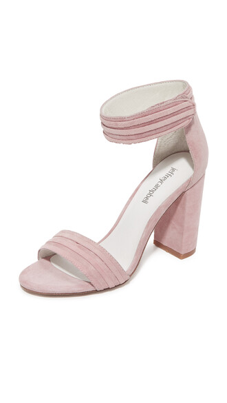 sandals pink shoes