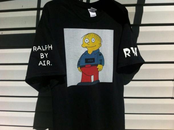 shirt hood by air t-shirt