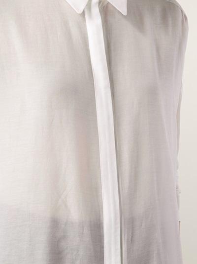 Demoo Parkchoonmoo Sheer Shirt Blouse - American Rag - Farfetch.com