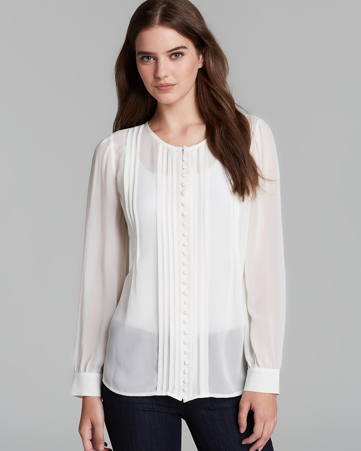 Joie Blouse - Jovanna Silk | Bloomingdale's