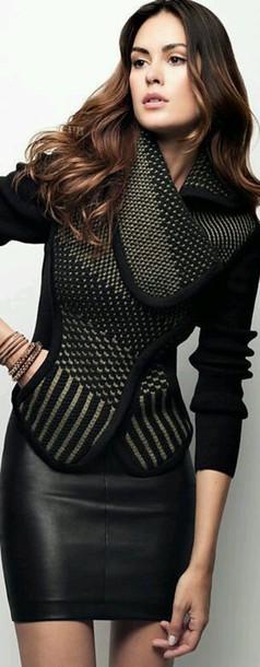 jacket fashion jacket black jacket