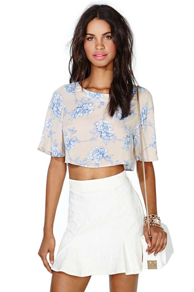 Lazy Day Crop Top | Shop Clothes at Nasty Gal