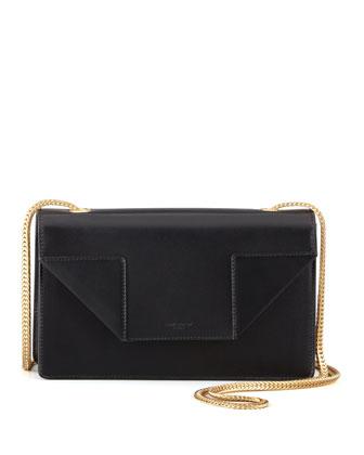 Saint Laurent Betty Mini Chain Shoulder Bag, Black - Neiman Marcus
