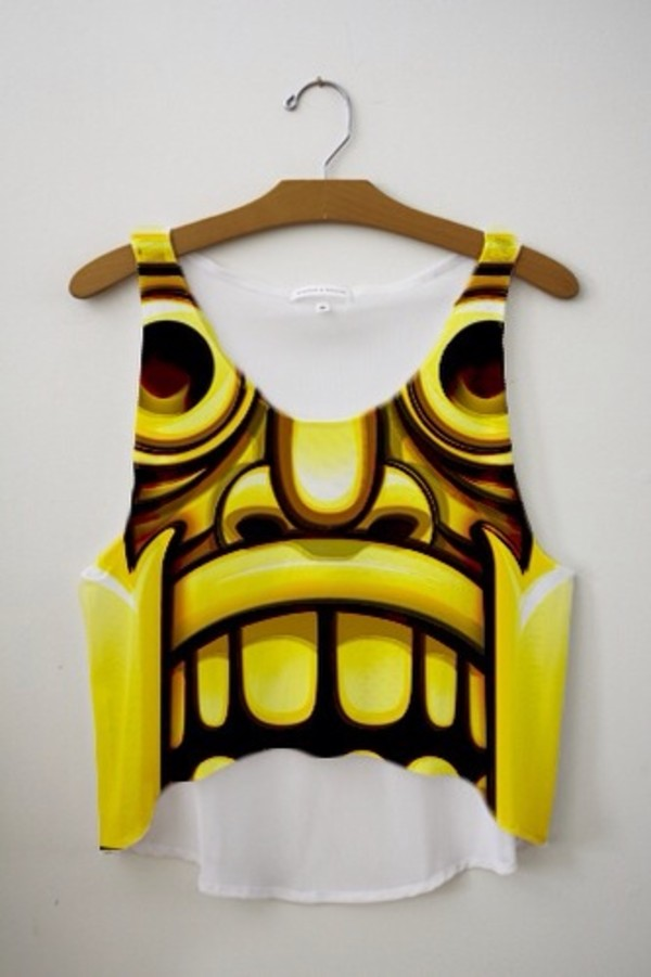 shirt temple run blouse