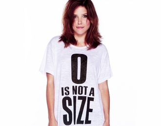shirt one tree hill sophia bush 0 is not a size t-shirt