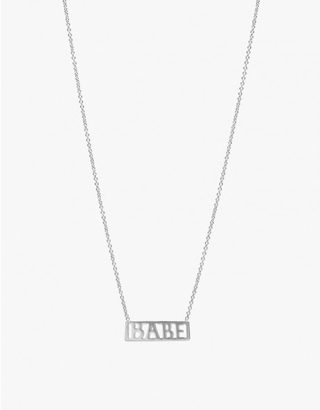 Babe Necklace in Silver
