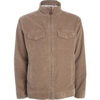 jacket beige corduroy