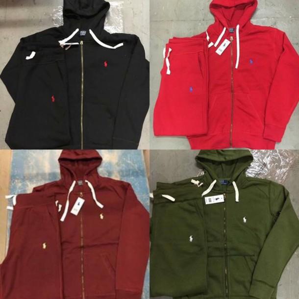 polo jumpsuit hoodie ralph lauren polo jacket ralph lauren sweatsuit set designer sweatshirt sweatpants sweat the