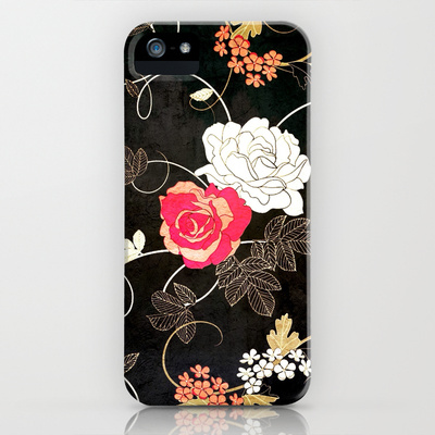 VINTAGE FLOWERS VII - for iphone iPhone & iPod Case by Simone Morana Cyla   Society6