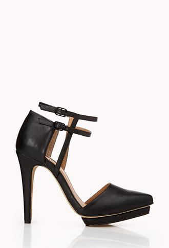 Sleek D'Orsay Pumps | FOREVER21 - 2000128492