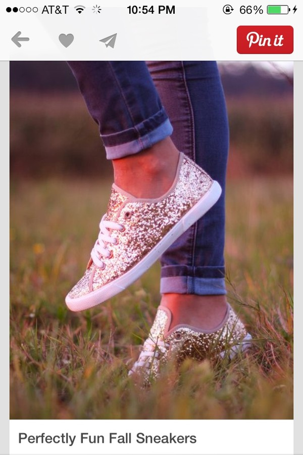 shoes gold sparkle fall outfits