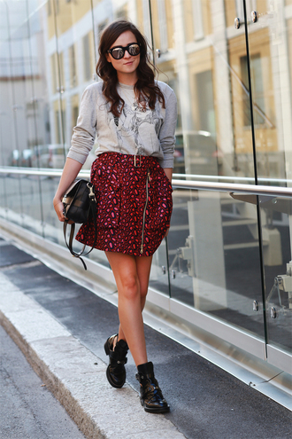 style scrapbook skirt sweater shoes bag
