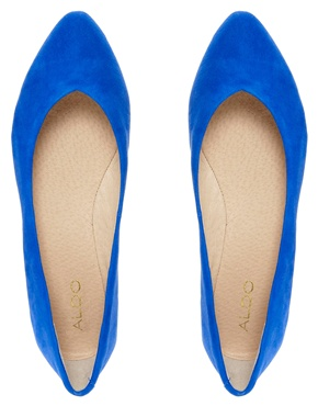 ALDO | Aldo Razavi Bluette Flat Shoe at ASOS
