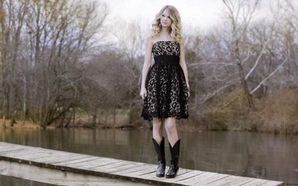 black boots black dress dress shoes shorts taylor swift