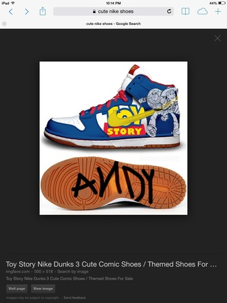 shoes movies toy story cool nike