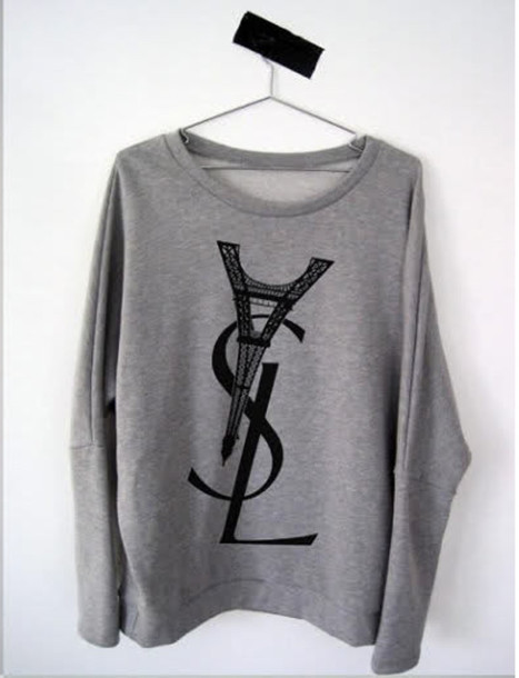 yves saint laurent sweater