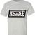 SHADE Short Sleeved T-shirt Contrast Logo - Grey – SHADE London
