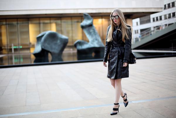 coat sunglasses bag shoes