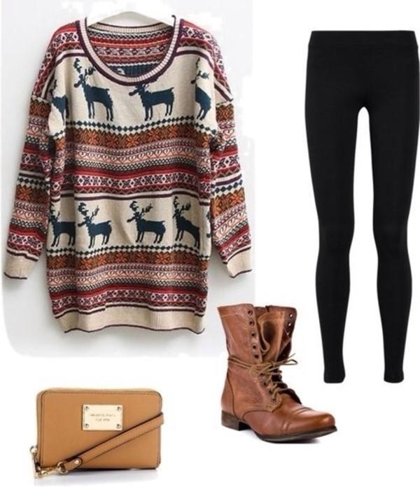 sweater sweatshirt winter sweater shoes