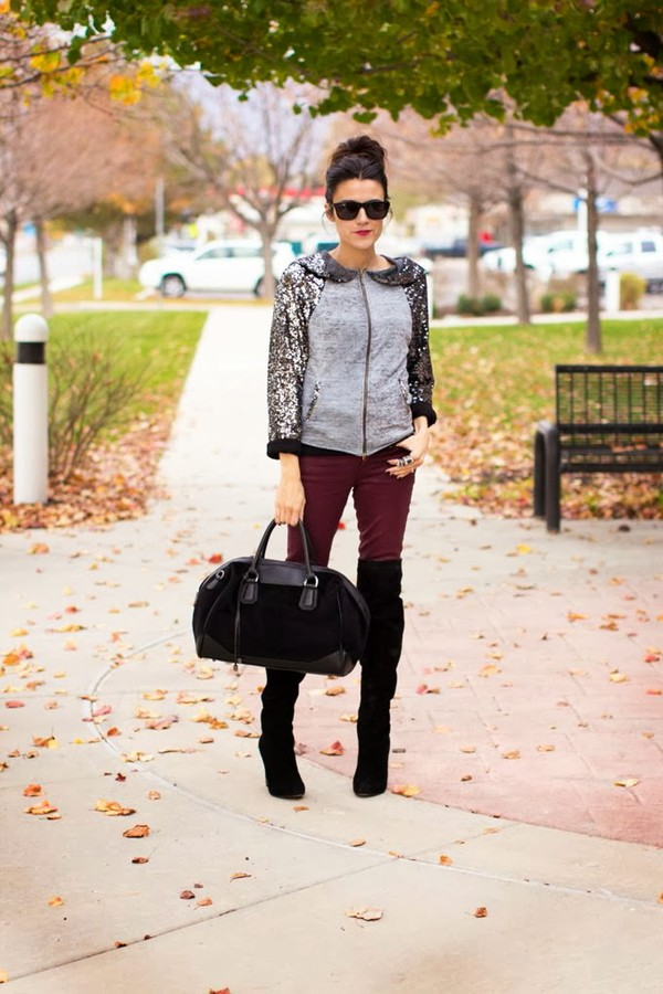 hello fashion sweater pants shoes sunglasses bag