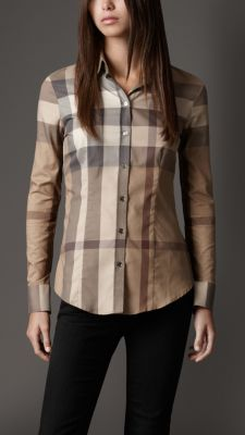 Check Cotton Shirt | Burberry