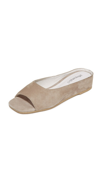 flats taupe shoes