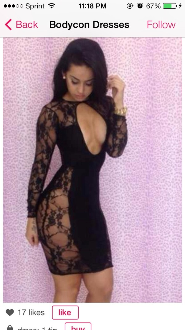 dress little black dress black lace dress